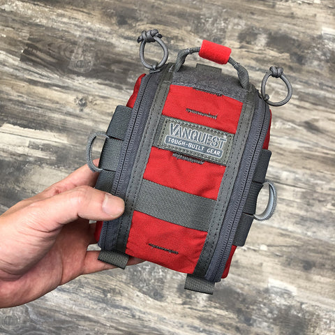 Vanquest 4x6 in RED - POUCH ONLY