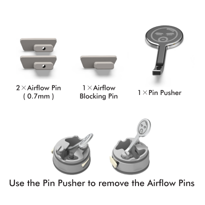 Air Pin Kit(RDL/MTL)-For BUSHIDO V3 RDA