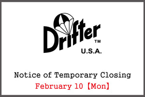 【Notice of Temporary Closing:February 10(Mon)】