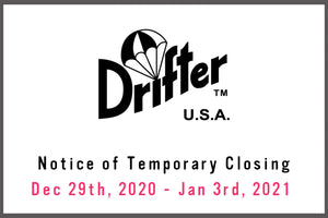Winter Holiday closing dates / Dec 29th, 2020 - Jan 3rd, 2021