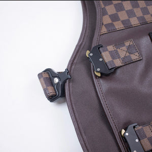 Outerwear Lux Checkered Vest