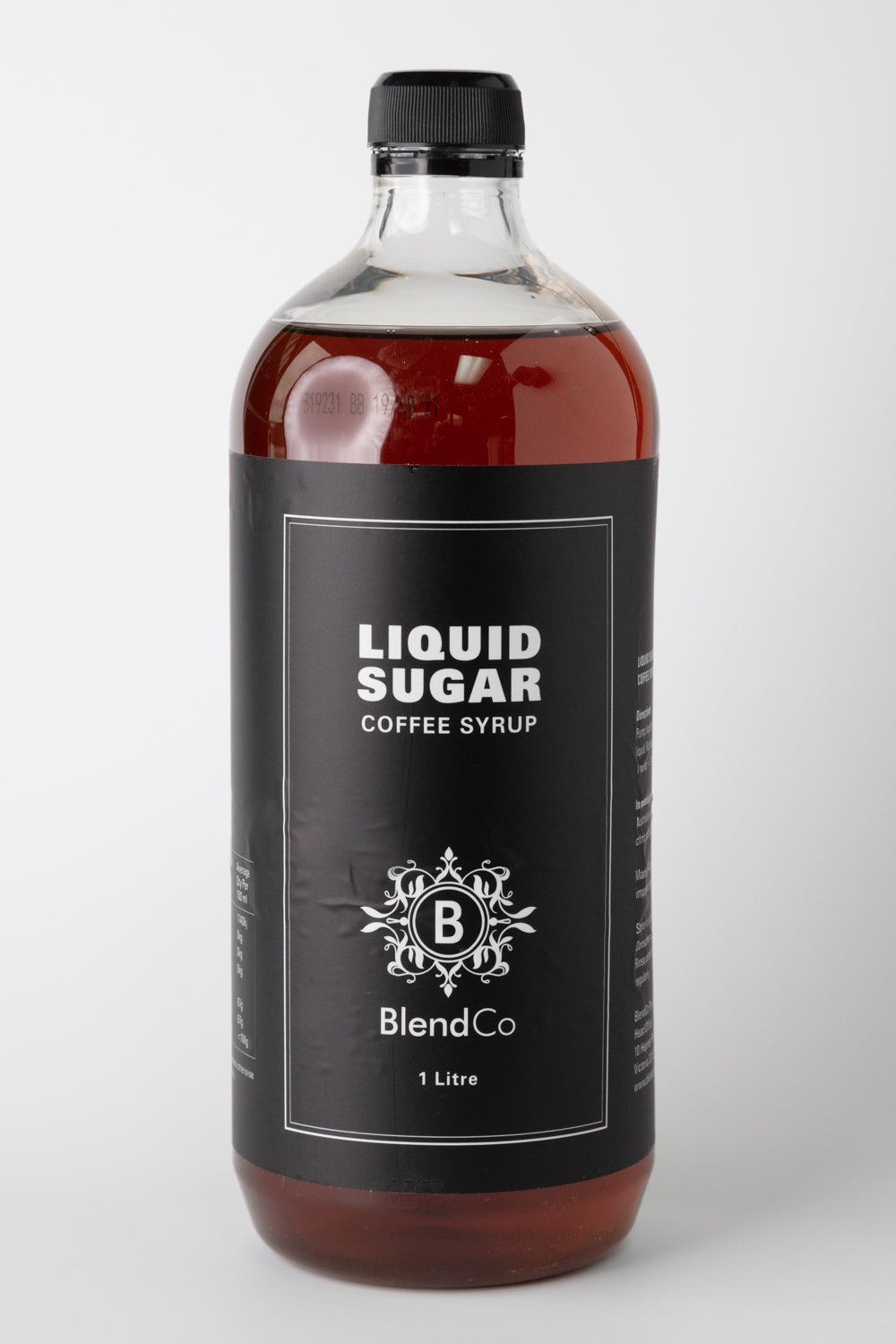 BlendCo Liquid Sugar Syrup 1L | BlendCo Australia - Beyond the Cup | Coffee | Tea | Machinery
