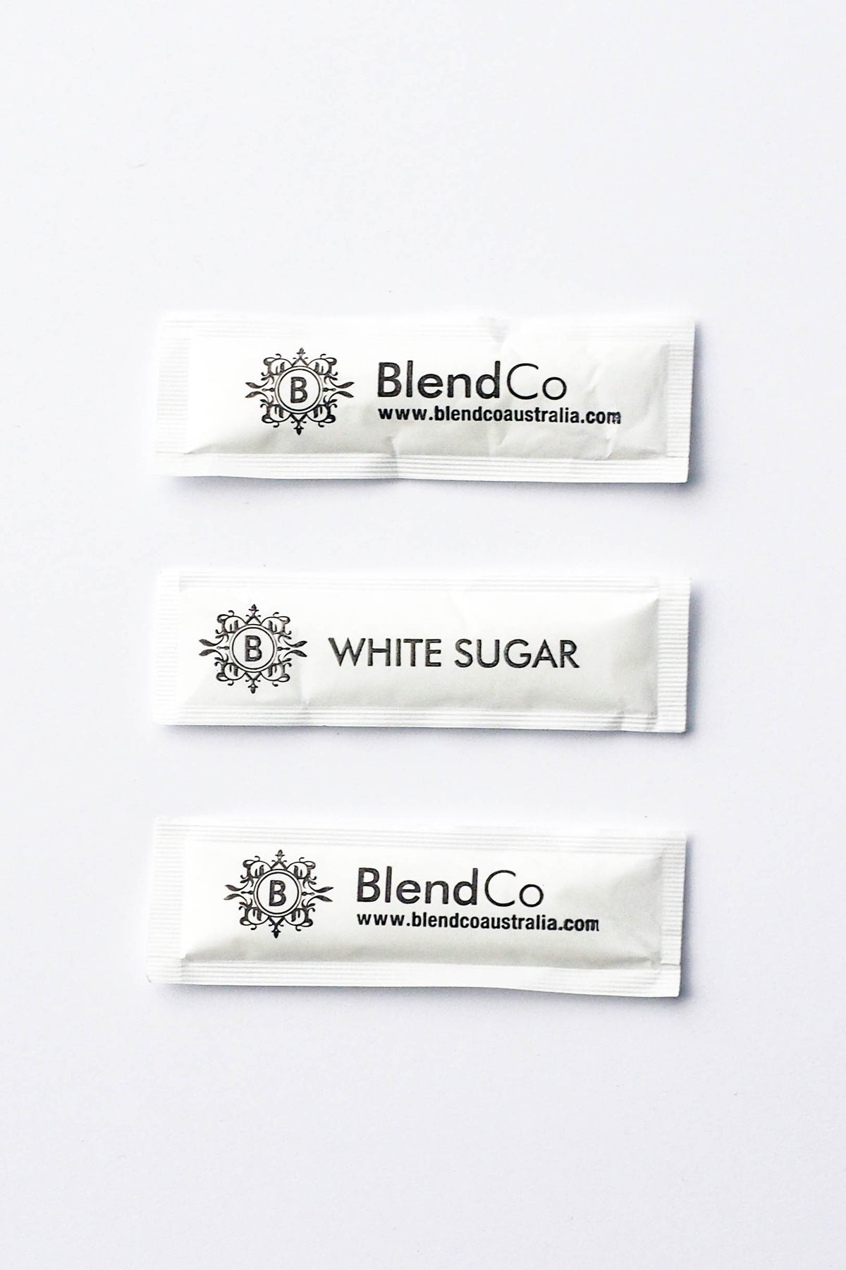 BlendCo White Sugar Sticks | BlendCo Australia - Beyond the Cup | Coffee | Tea | Machinery