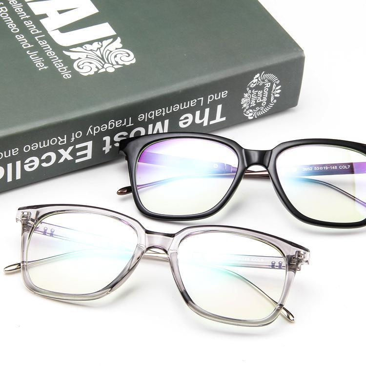 Retro Rivet Eyewear Frame Men Women glasses