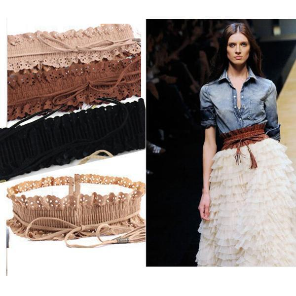 Hollow Fringed Belt