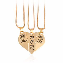BIG LIL SIS & MOM SET NECKLACE