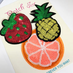 Fruits Patch Set