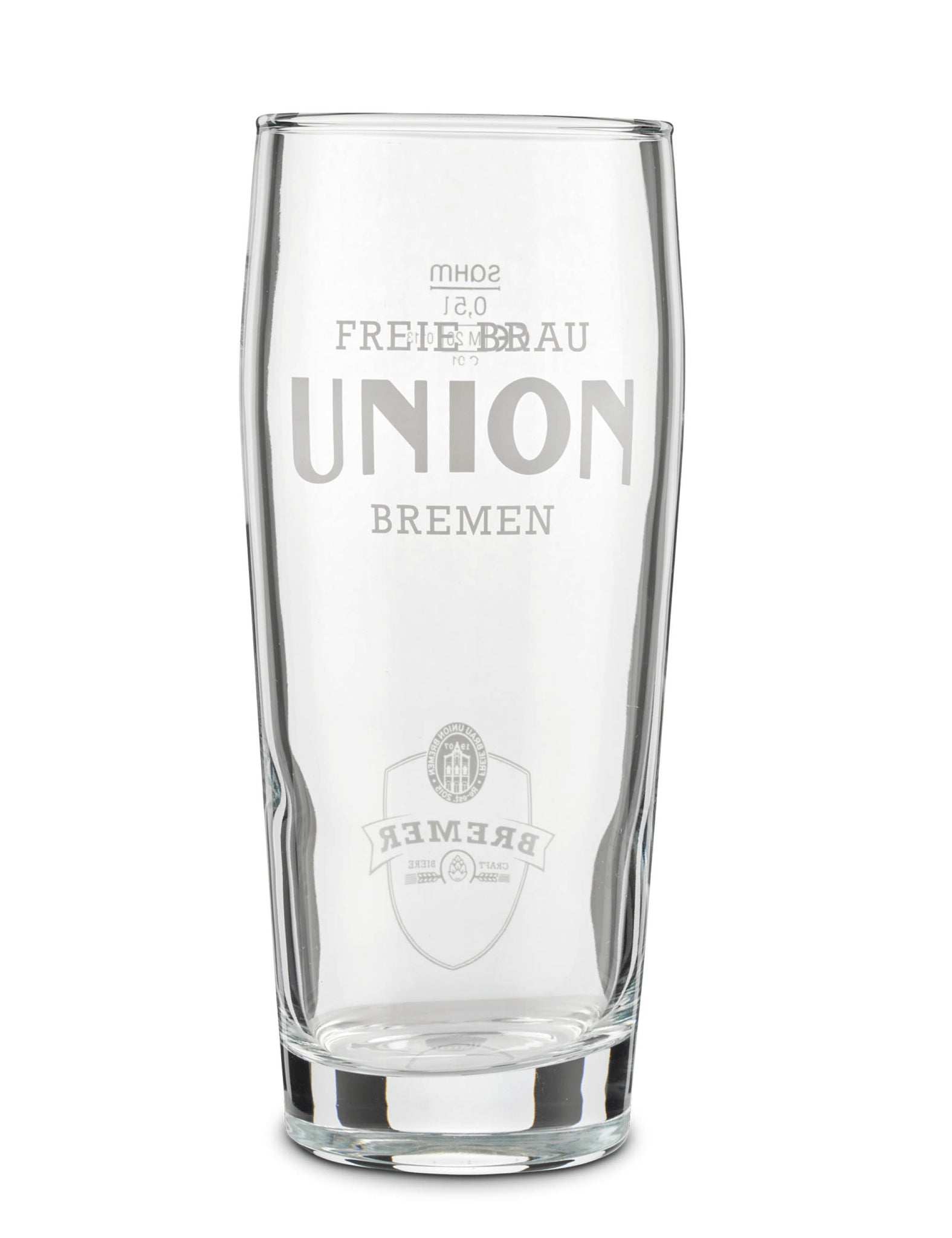 UNION GLAS - WILLI-BECHER 0,5L