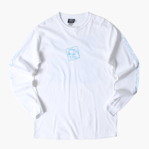 "PIV - Chris Stussy ""Across Ocean"" Longsleeve Shirt White"