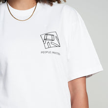 Load image into Gallery viewer, PIV BASIC TEE WHITE