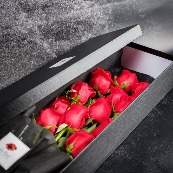 Long Stemmed Rose Box