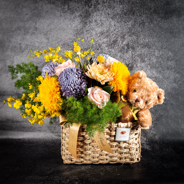 Brightening basket