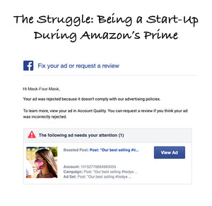 The Struggle: Being a Start-Up During Amazon's Prime