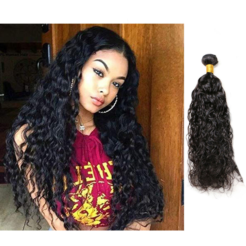 BHE Hair 8A 1 Bundle Brazilian Wet And Wavy Hair Virgin Human Remy Hair Weave