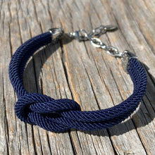 Load image into Gallery viewer, Waterproof nautical bracelet from Swedish Maris Sal. Marint armband från svenska Maris Sal.