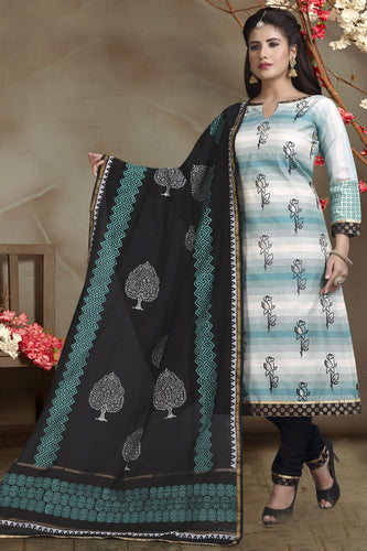 Bhelpuri Chanderi Silk Shaded Turquoise Blue Designer Party Wear Salwar Suit