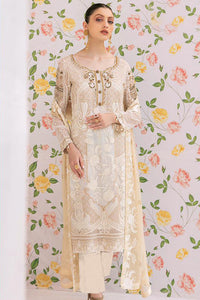 Bhelpuri Off White Faux Georgette Designer Party Wear Pakistani Suit
