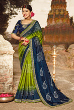 Load image into Gallery viewer, Bhelpuri Multi Colour Dola Silk Saree