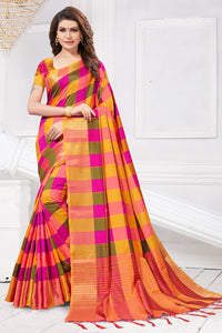 Bhelpuri Multi Colour Art Silk Saree