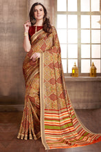 Load image into Gallery viewer, Bhelpuri Multi-Color Manipuri Silk Saree