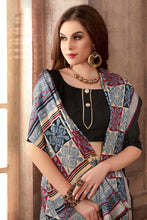 Load image into Gallery viewer, Bhelpuri Multi-Colour Manipuri Silk Printed Saree