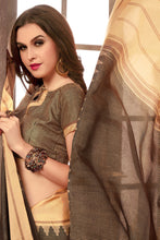 Load image into Gallery viewer, Bhelpuri Brown Manipuri Silk Saree