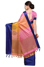Load image into Gallery viewer, Bhelpuri Multi Colour Banarasi Katan Silk Woven Saree with Blouse Piece