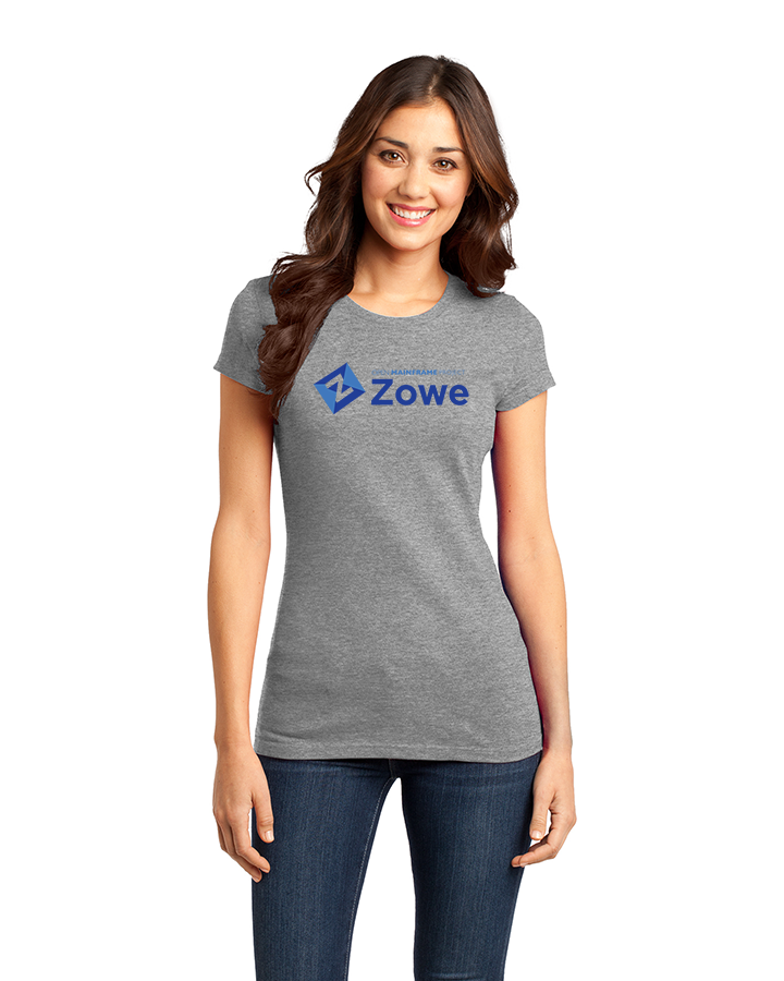 Zowe Logo Fitted Tee