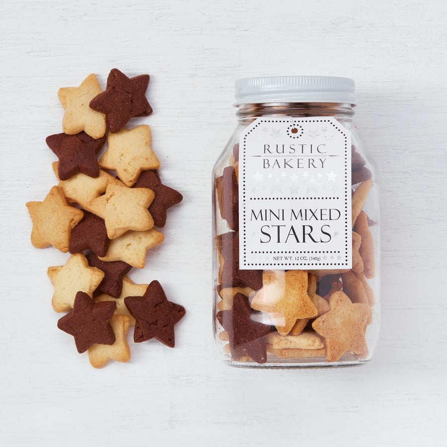 Mini Mixed Stars (Vanilla & Chocolate)