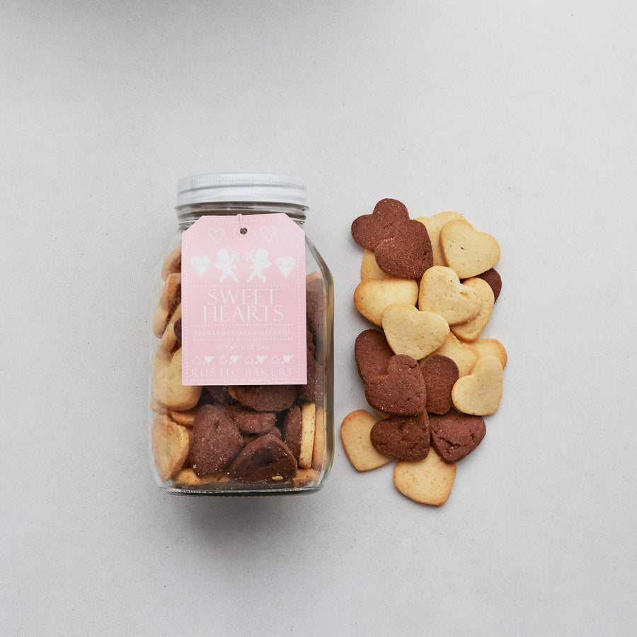 Sweet Hearts Cookie Jar