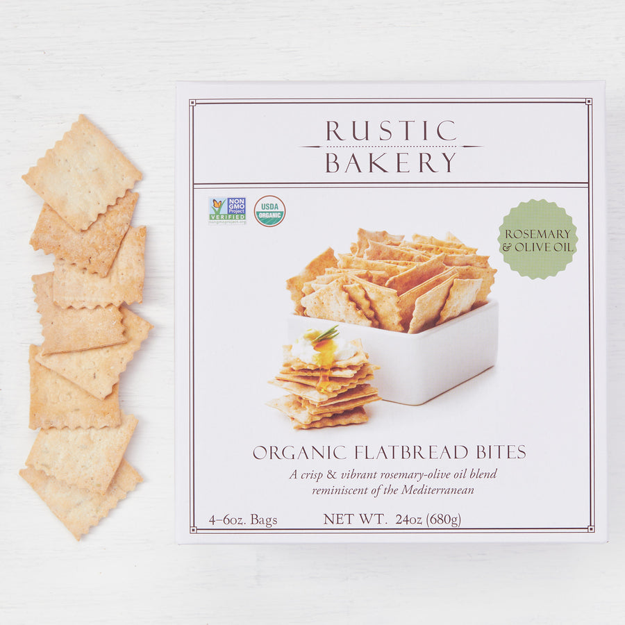 Family Pack | Rosemary & Olive Oil Flatbread Bites