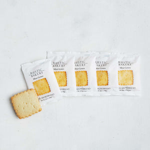 Single Serve Meyer Lemon Shortbread Cookies