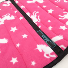 Load image into Gallery viewer, Unicorn saddle pads/fleece numnahs