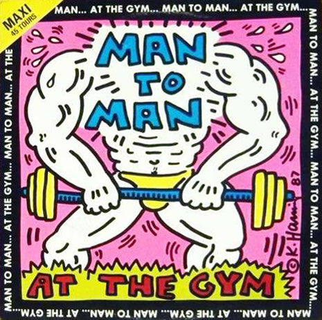 Man to Man Vinyl Record (With Frame), 1987