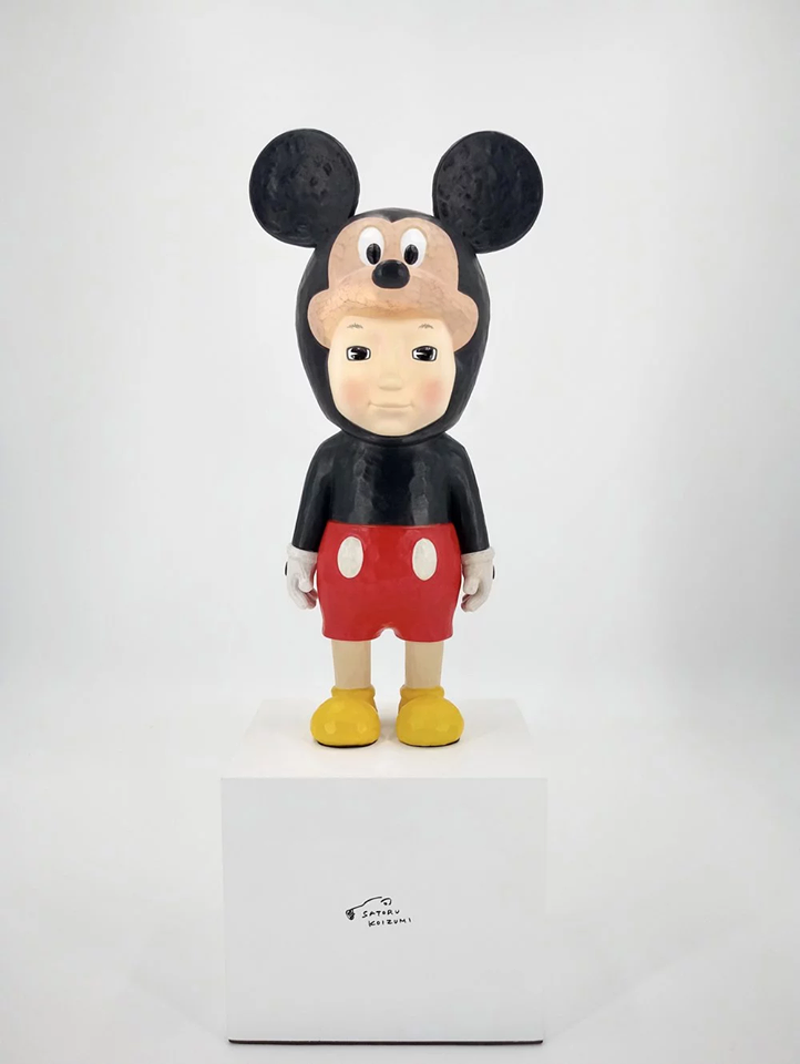 """WITH"" Mickey Sculpture, 2020"