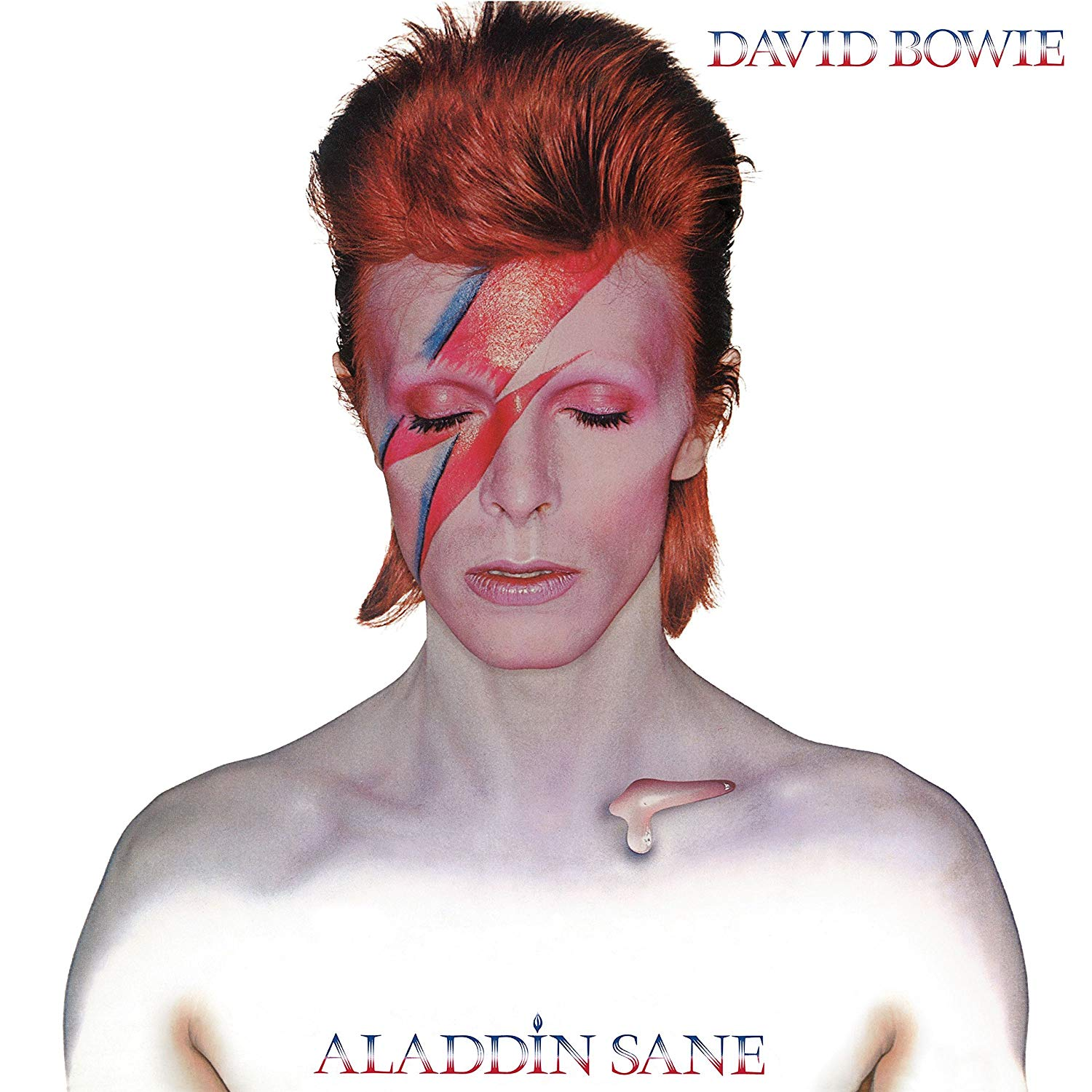 David Bowie Aladdin Sane - Eyes Close (With Frame), 1973