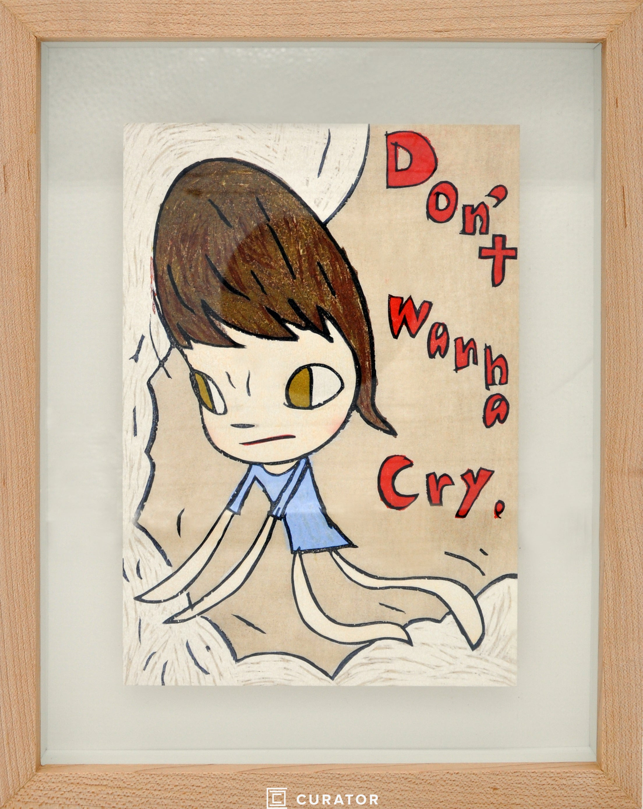 Don't Wanna Cry (Framed Official Print)
