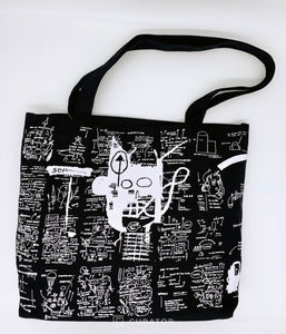 "Gusseted Canvas Tote ""Untitled (Return of the Central Figure)"", 2019"