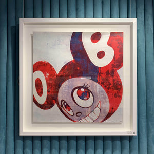 And Then, And Then And Then (Blue Red), 2006 (Signed & Framed)