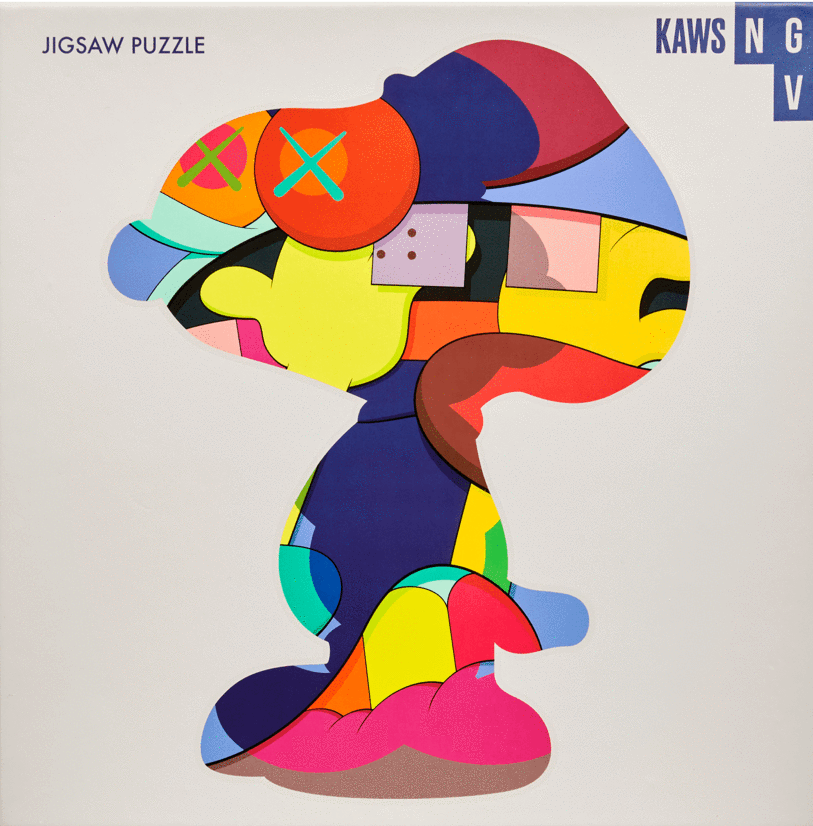 "KAWS x NGV ""No One's Home"" 1000 Piece Jigsaw Puzzle, 2019"