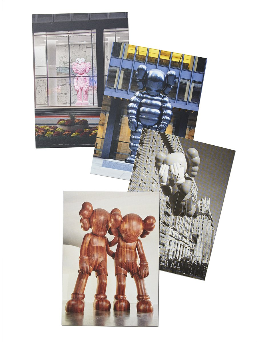 Brooklyn Museum - Monumental Sculptures Postcard (Set of 4), 2021