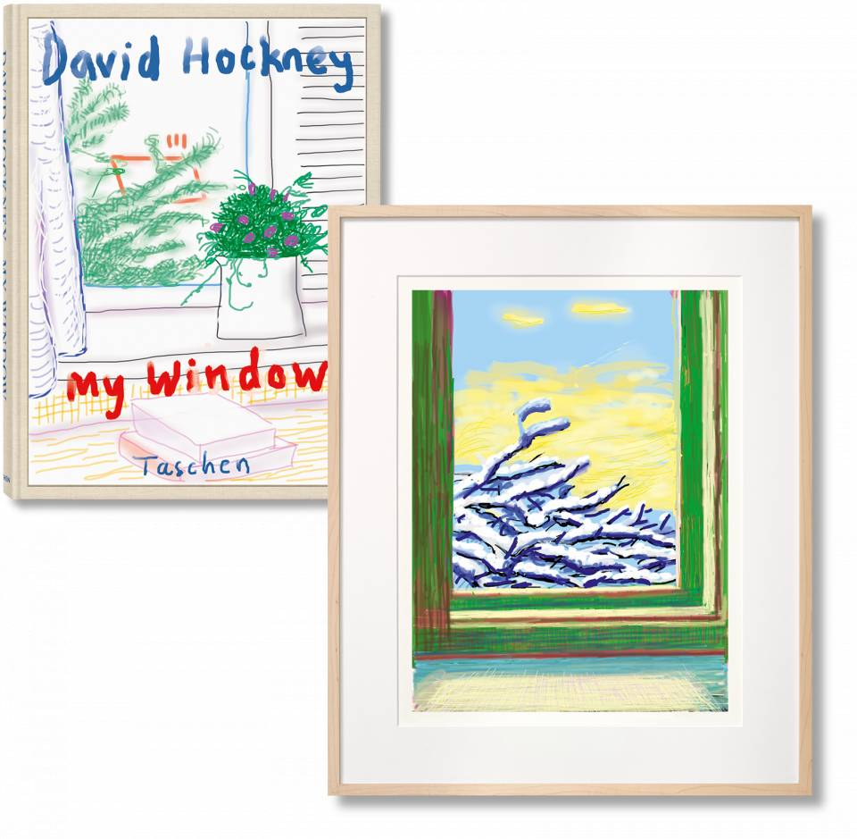 David Hockney - My Window. Art Edition (Signed)