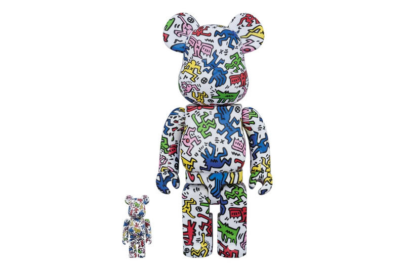 BE@RBRICK X Keith Haring (100% and 400%), 2017