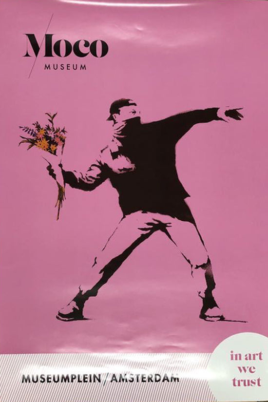 Flower Thrower Poster (MOCO Museum), 2019