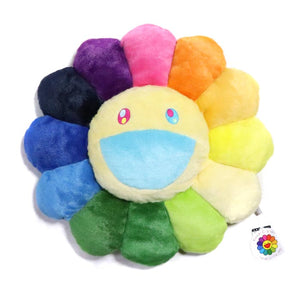 Flower Cushion 30 cm (Multicoloured)
