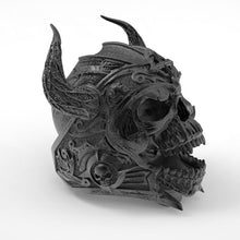 Load image into Gallery viewer, Gothic 316L Edelstahl Totenkopf Ring