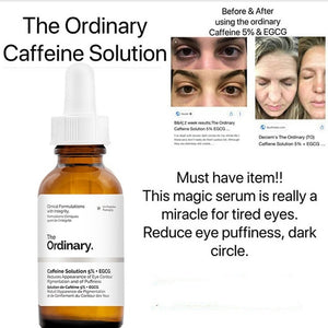 Reduces Appearance of Eye Contour Pigmentation and of Puffiness