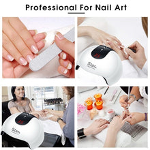 Load image into Gallery viewer, Nail Dryer Lamp Nail Phototherapy Machine Smart UV LED Quick-Drying Nail Lamp