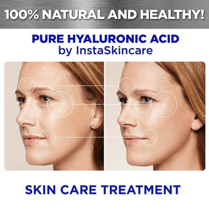 Hyaluronic Acid Serum for Skin - 100% Pure Medical Quality Clinical Strength Formula