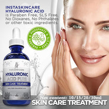 Load image into Gallery viewer, Hyaluronic Acid Serum for Skin - 100% Pure Medical Quality Clinical Strength Formula